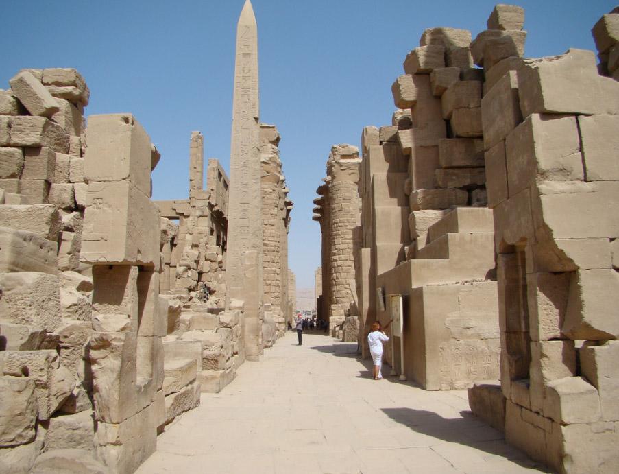 Tempelkomplexe von Karnak