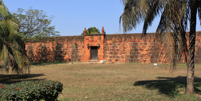 maputo fortress of our lady of the conception  mozambique