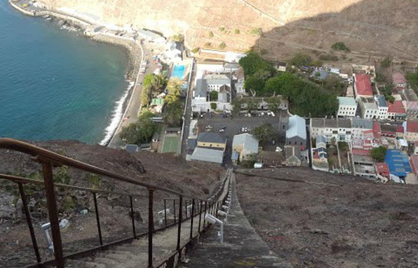 Jamestown Jacob S Ladder Ilha De Santa Helena Pontos