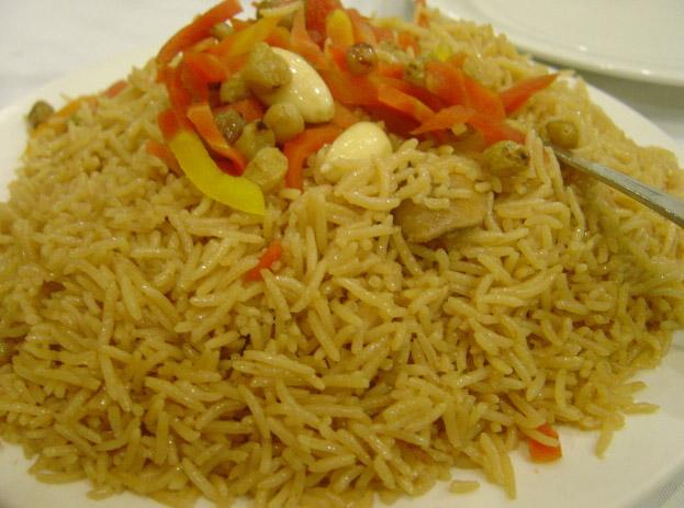Kabuli Pulao Recipe Afghan rice and lamb pilaf  Whats4eats