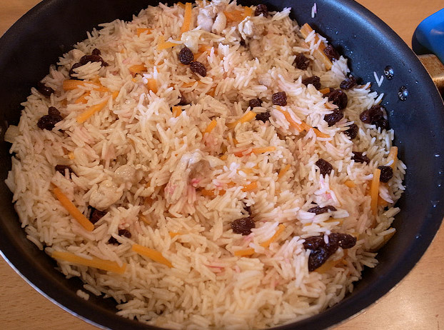 Kabuli Pulao Recipe  Afghan Rice With Lamb Carrots