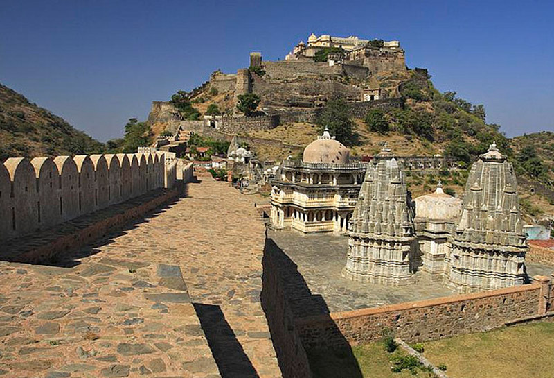 New Delhi Chittorgarh Fort North India India Fortress