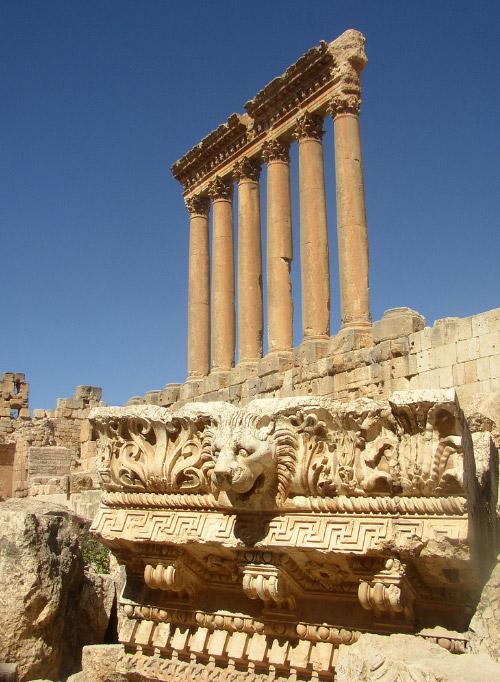 baalbek baalbek temples  lebanon
