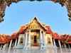 Bangkok - Wat Benchamabophit (Templo de Mármol)