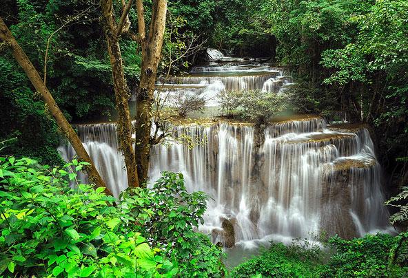 Huai Mae Khamin Waterfall