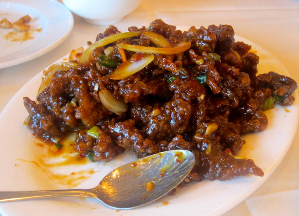 Ginger beef