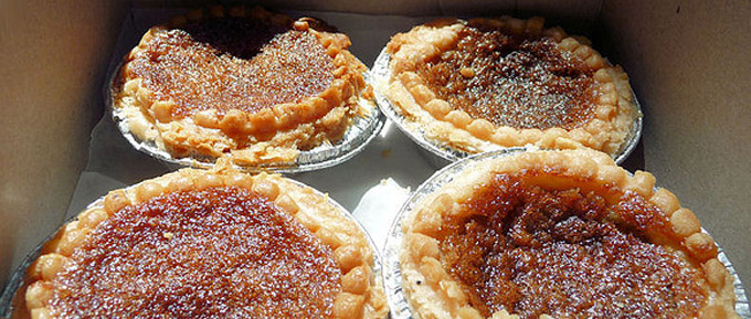 Butter tarts (Torta de mantequilla)