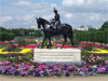 Regina - Statue of Queen Elizabeth II riding Burmese