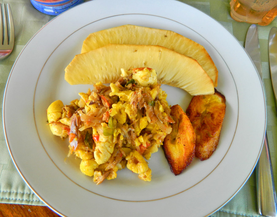 Ackee and Saltfish
