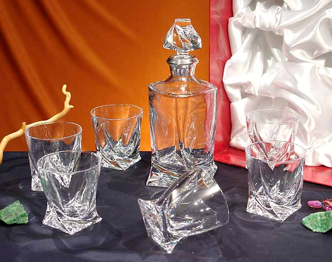 Bohemian Glass (or Bohemian Crystals)