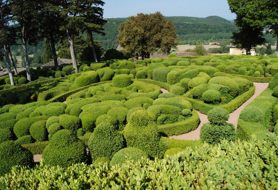 Bordeaux giardini pensili di marqueyssac aquitania for Giardini pensili