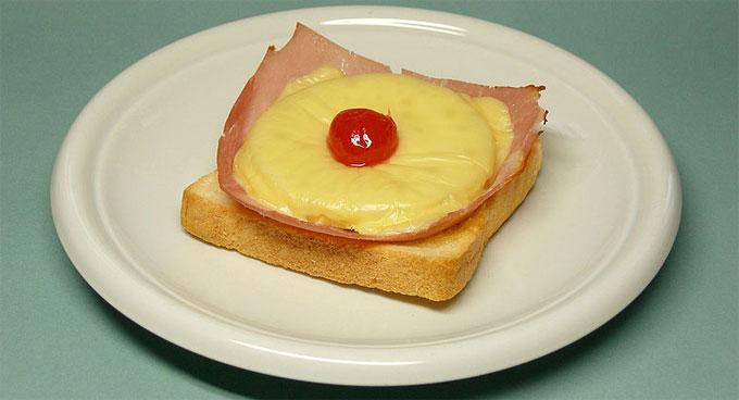 Bonn toast hawaii n rh westphalia germany traditional food toast hawaii sciox Images