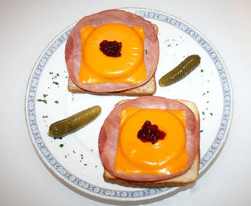 Bonn toast hawaii n rh westphalia germany traditional food toast hawaii toast hawaii sciox Images