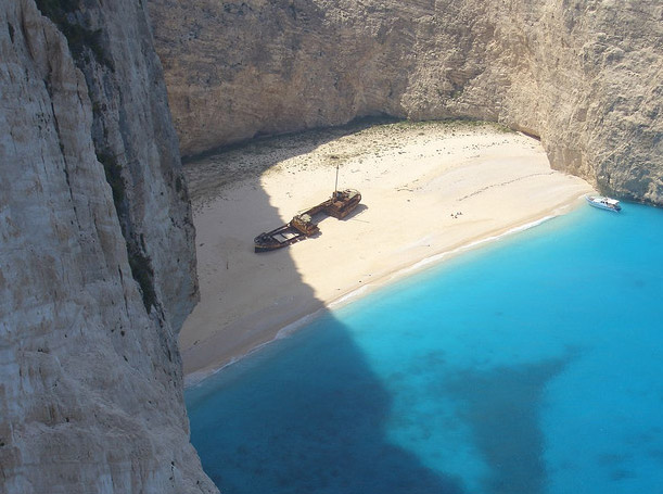 Zakynthos Volimes Blue Caves Ionian Islands Greece