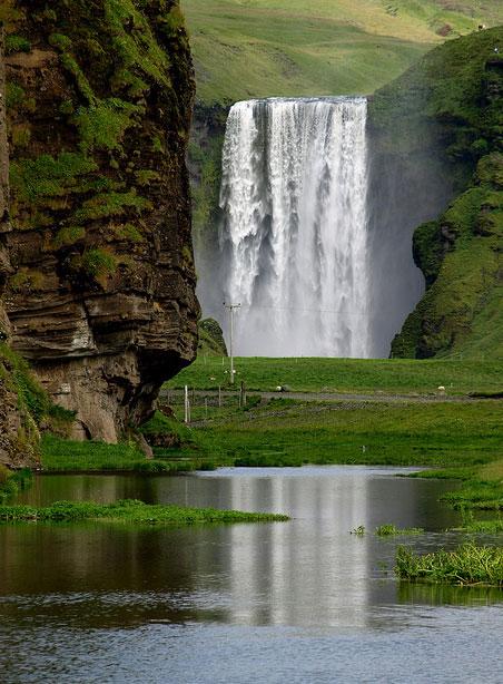 Reykjav 237 K Skogafoss Iceland Fall Reykjav 237 K Falls