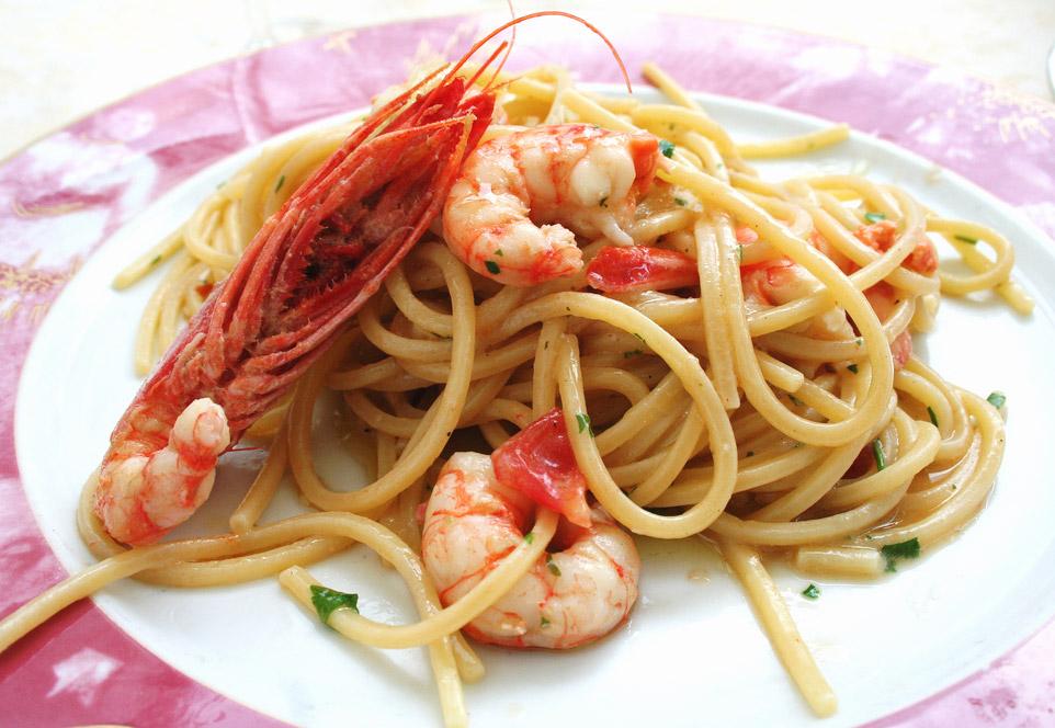 L Aquila Spaghetti Alla Chitarra Abruzzo Italy