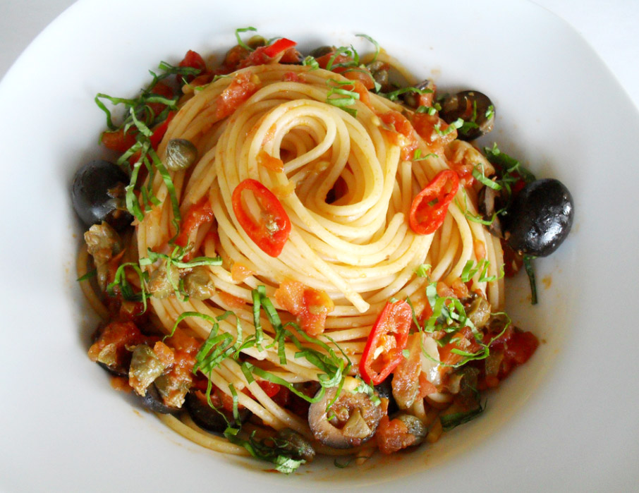 puttanesca pasta puttanesca spaghetti alla puttanesca pasta puttanesca ...