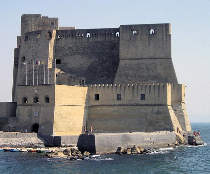Neapel Castel dellOvo (Kampanien, Italien) - schloss Neapel - schloß ...