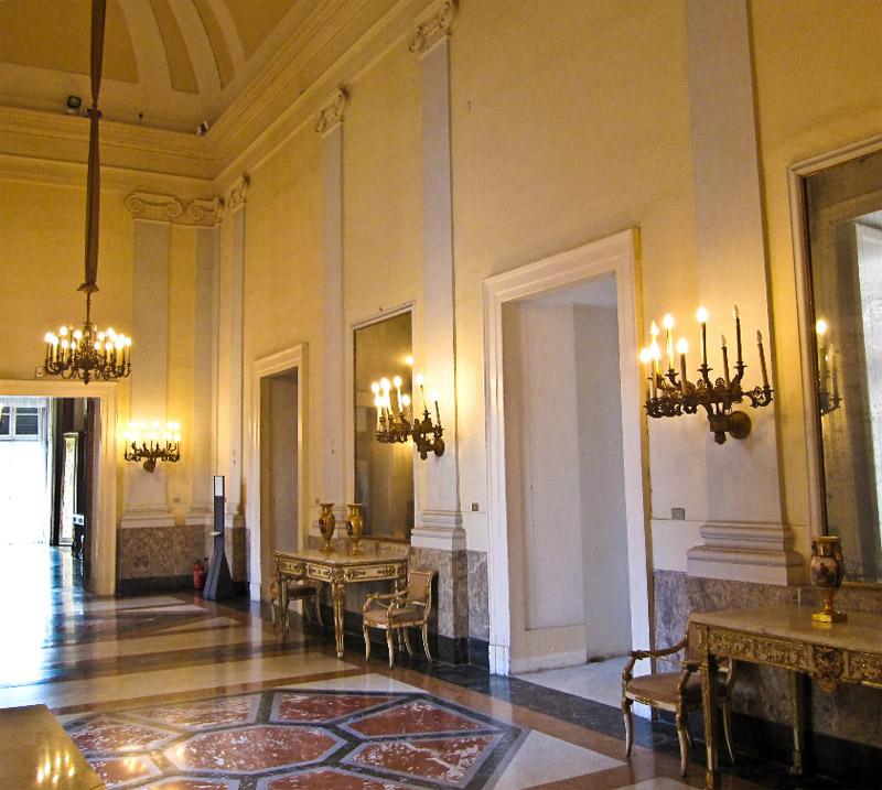 Le Palais royal de Naples