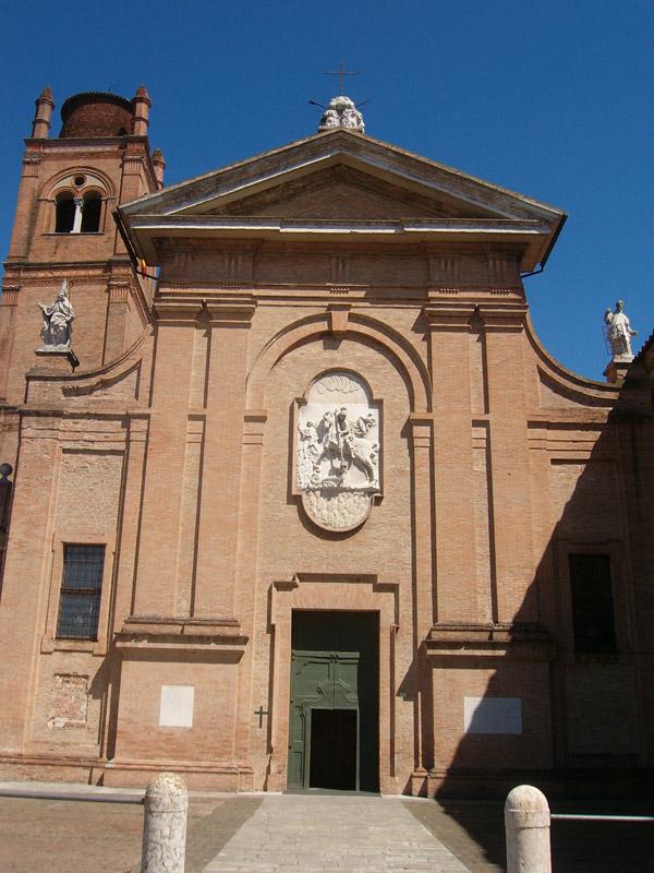 Ferrara Le Principali Chiese  Emilia Romagna  Italia
