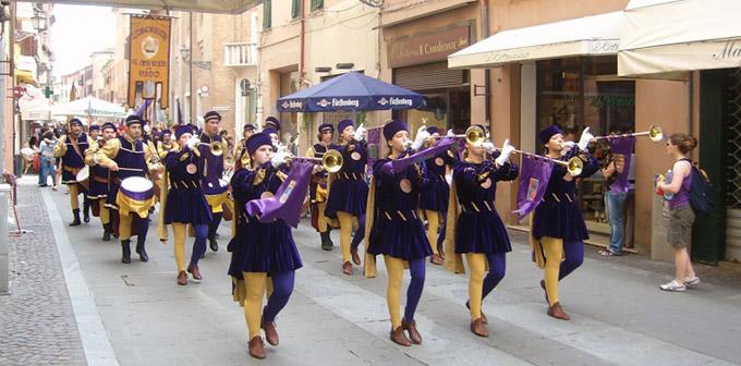 Le défilé du Palio