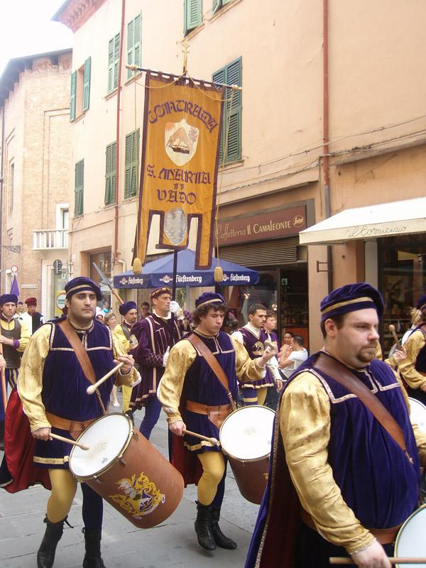 The Palio Parade
