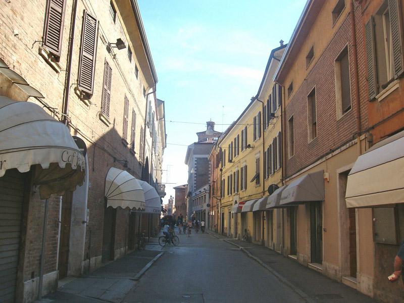 Les rues principales