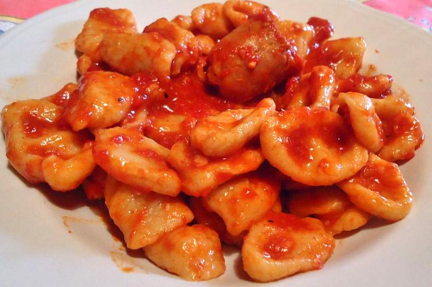Amatrice gnocchi ricci lazio italia piatti tipici for Cibi tipici di roma