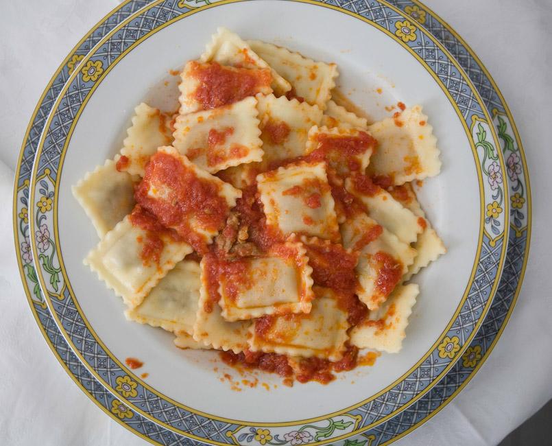 Roma ravioli lazio italia piatti tipici roma piatti for Piatti tipici roma