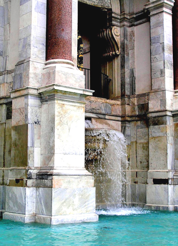 The Fountain of Acqua Paola