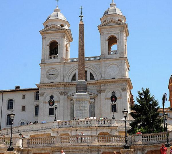 Roma Piazza Di Spagna Lazio Italia Zona Turismo Roma