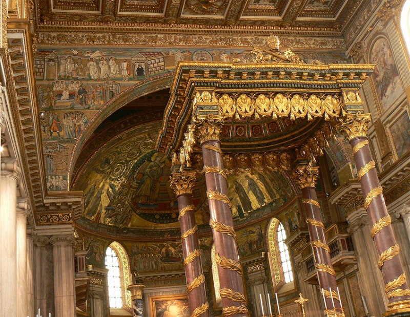The Papal Basilica of Saint Mary Major