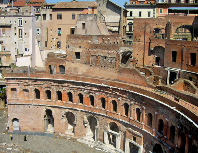 The Trajan's Markets