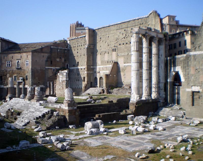 Roma Mercati Di Traiano Lazio Italia Reperto Roma