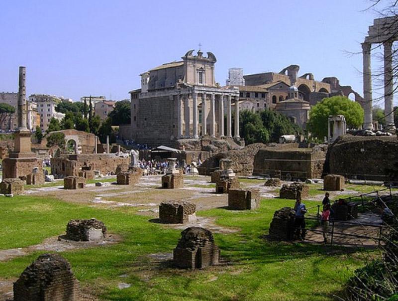 Le Forum Romanum