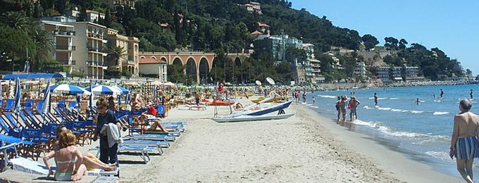 Exceptionnel Alassio La Mer et les Plages (Ligurie, Italie) - plage de san remo  ZD53