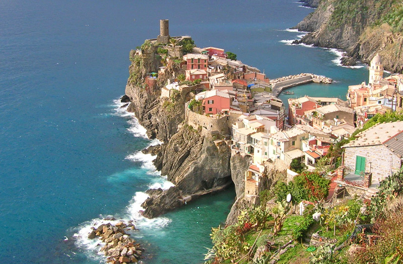 Vernazza The Sea of Cinque Terre (Liguria, Italy ...