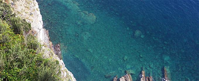 O Mar de Cinque Terre