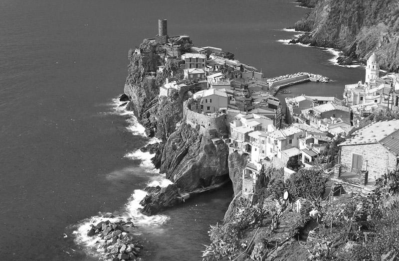 A História de Cinque Terre