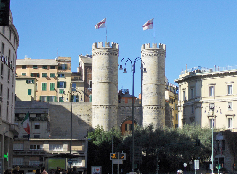 Die Stadttore von Genua