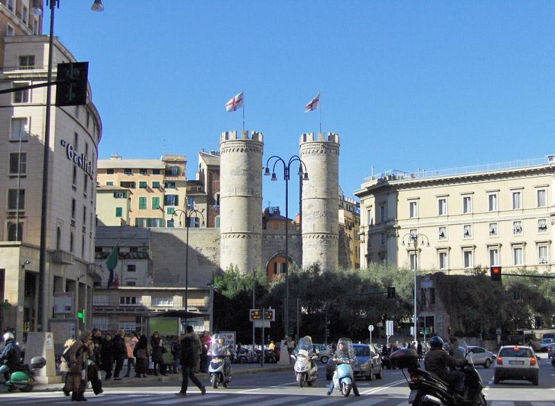 Les portes de Gênes