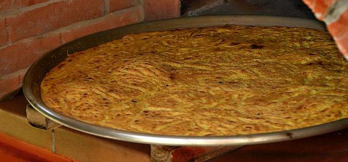 ... this flavorful Farinata Genovese Ligurian Chickpea Pancake Flatbread