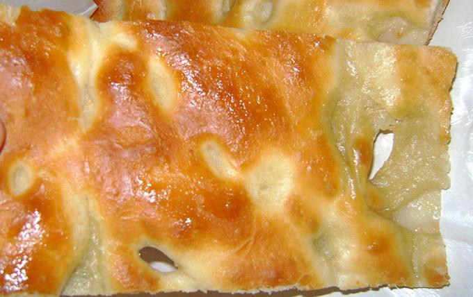 Focaccia genovese (Genoese focaccia)