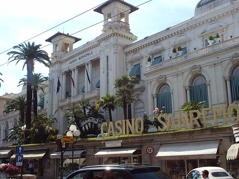 restaurant casino san remo