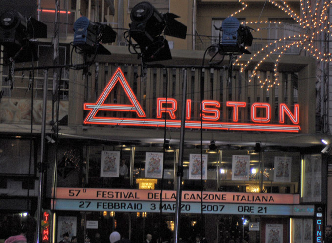 The Ariston Theatre (Teatro Arisotn)