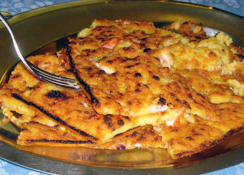 ... vegetables farinata with grilled vegetables recipe dishmaps farinata
