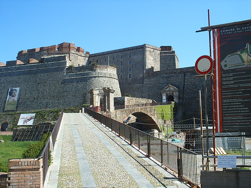 Savona The Priamar Castle Liguria Italy City History