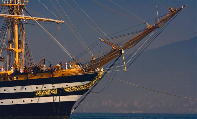 L'arsenal de la marine de La Spezia