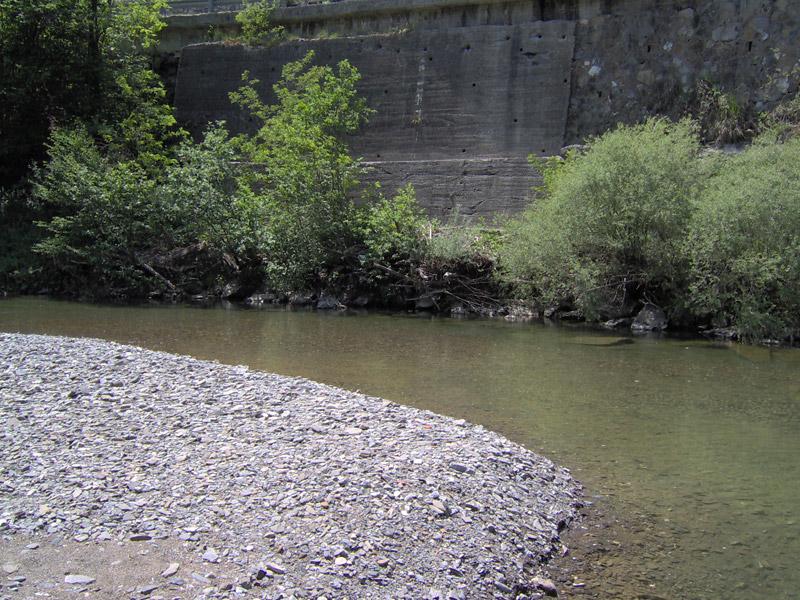 Der Fluss Trebbia