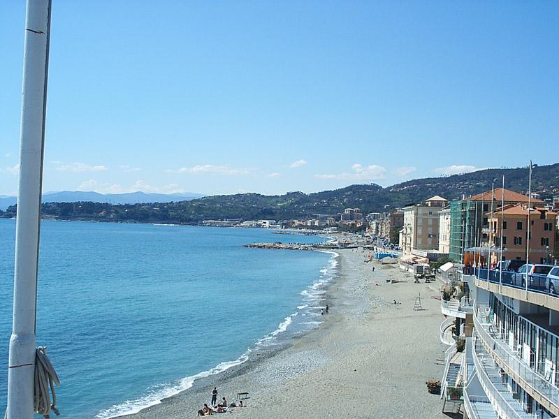Varazze The Sea And The Beaches Of Varazze Liguria Italy
